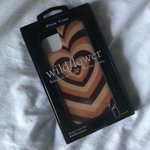Wildflower Hearts iPhone 11 Phone Case